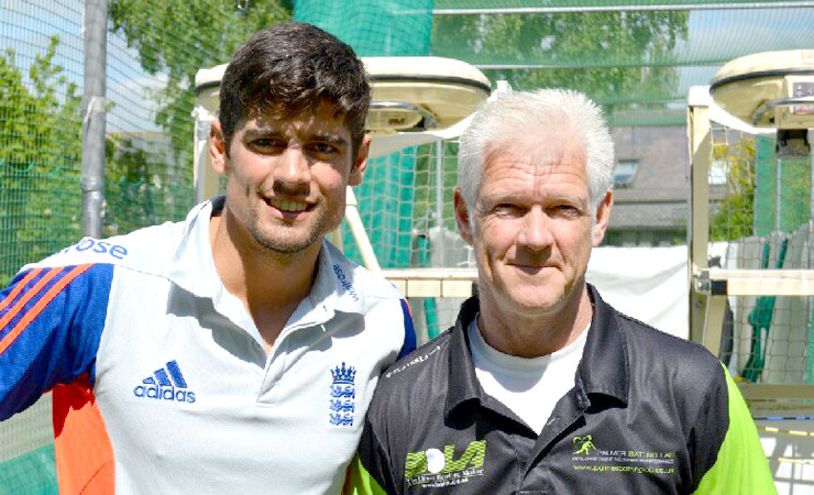 Alistair Cook and Gary Palmer