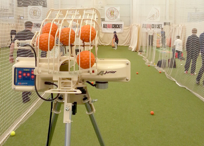 BOLA Junior in use at Lords